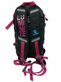 Batoh HAVEN Luminite - Black_Pink