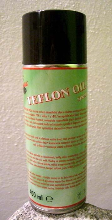 Ekolube Teflon Oil 400 ml, spray