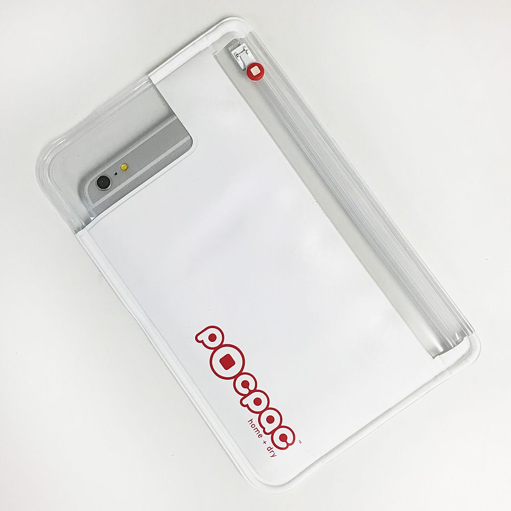 Obal na mobil PocPac Utility White - Racing Red