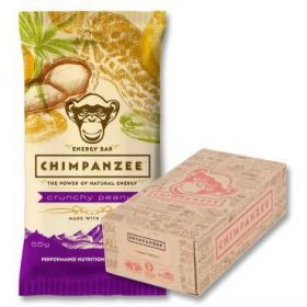 CHIMPANZEE BOX ENERGY BAR Crunchy - Arašidy