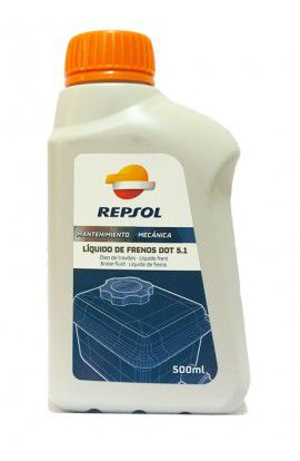 Repsol Liquido de frenos DOT 5.1 500 ml