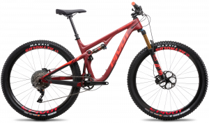 Pivot Trail 429 Race XT - Crimson