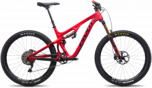 Pivot MACH 5.5 Carbon - Red Satin