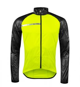 Bunda FORCE WINDPRO neprofuk - černo fluo